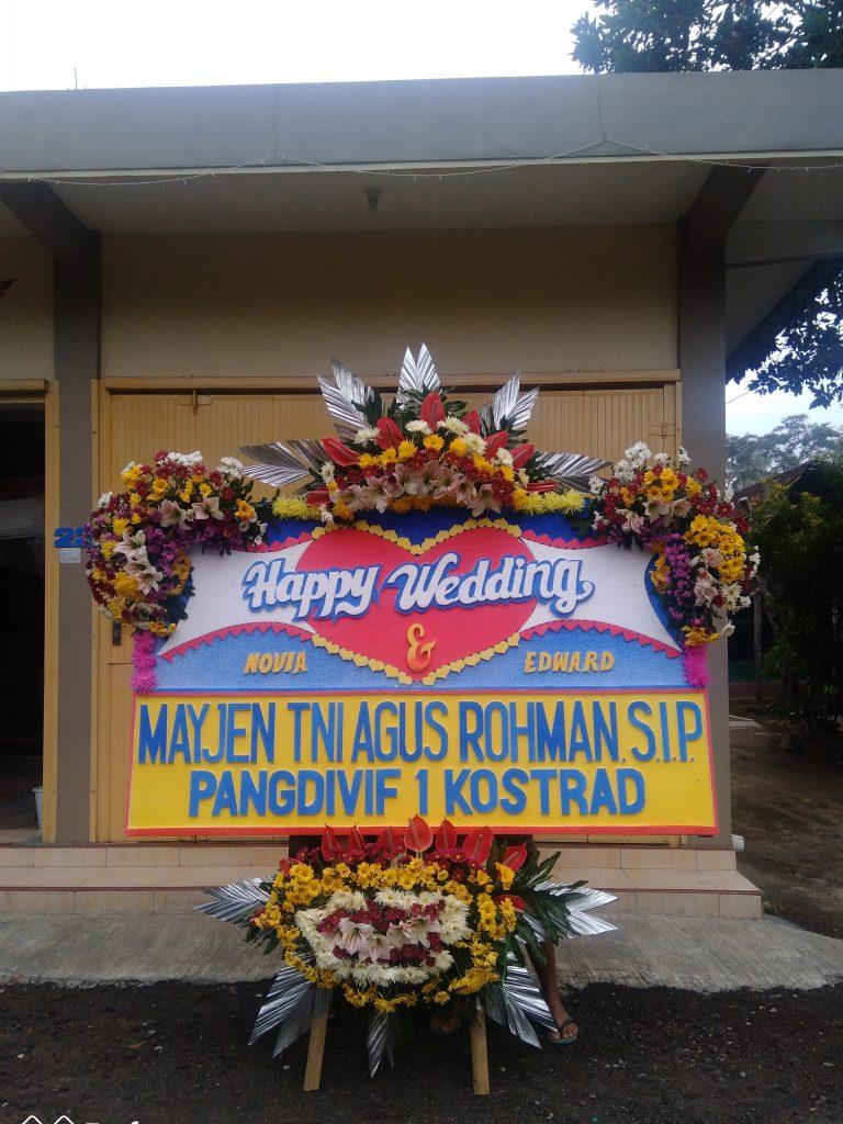 Karangan Bunga Wedding Temanggung parakan zaenflorist Code Zn 026