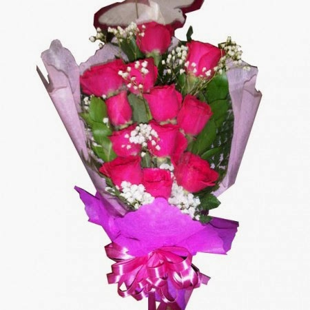 Karangan bunga bouquet simple zaenflorist Code Zn 013