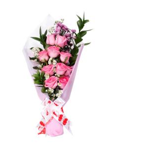Karangan bunga bouquet simple zaenflorist Code Zn 014