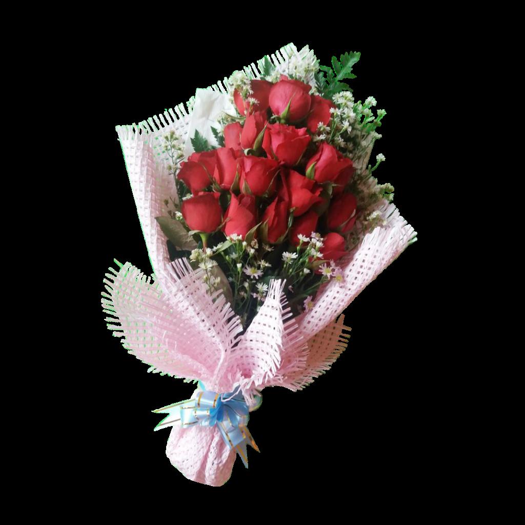 Karangan bunga bouquet simple zaenflorist Code Zn 015