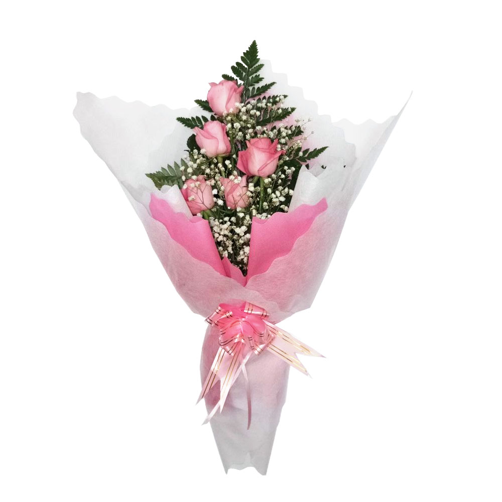 hand bouquet artificial buatan tangan simple murah zaenflorist code zn 07