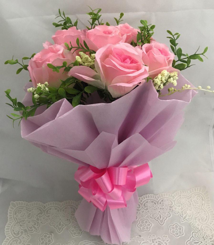 hand bouquet artificial buatan tangan zaenflorist code zn 01