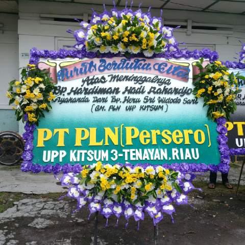 karangan bunga dukacita Temanggung parakan zaenflorist Code Zn 025