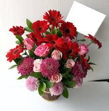 karangan bunga meja cantik Zaenflorist Code Zn 17