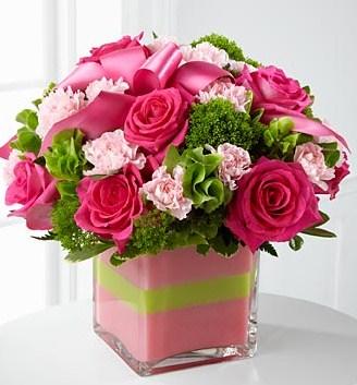 karangan bunga meja cantik Zaenflorist Code Zn 20