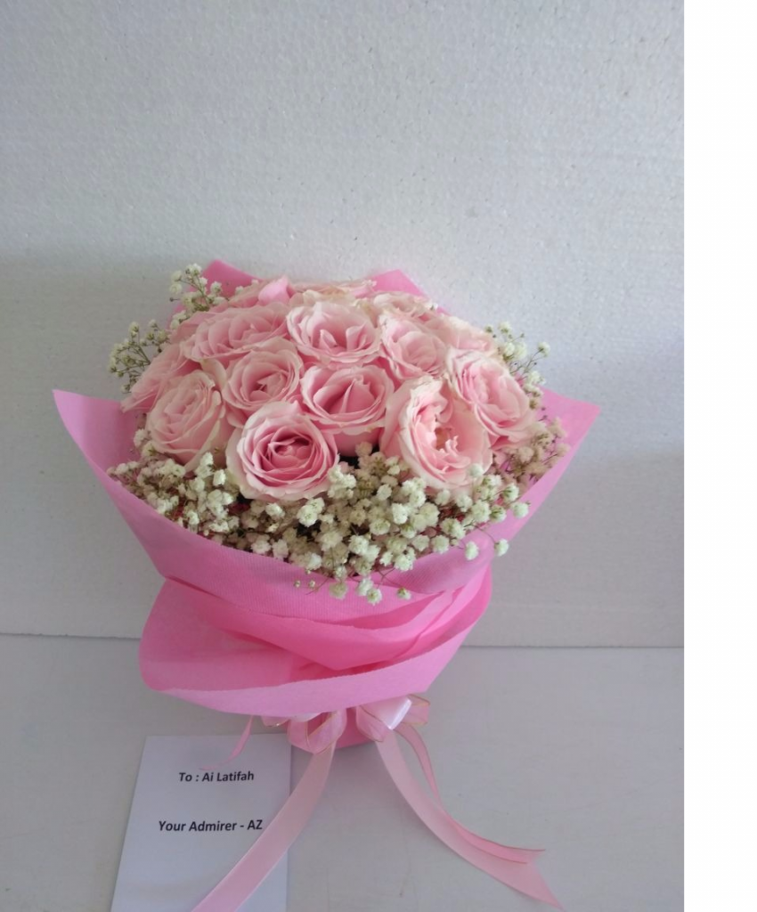 karangan bunga untuk pacar zaenflorist Code Zn 06