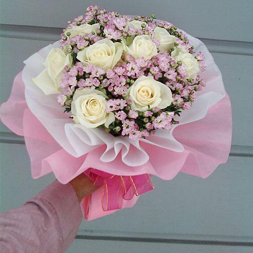 karangan bunga untuk pacar zaenflorist Code Zn 07