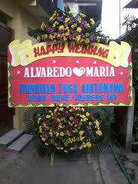 karangan bunga wedding murah zaenflorist Code Zn 011