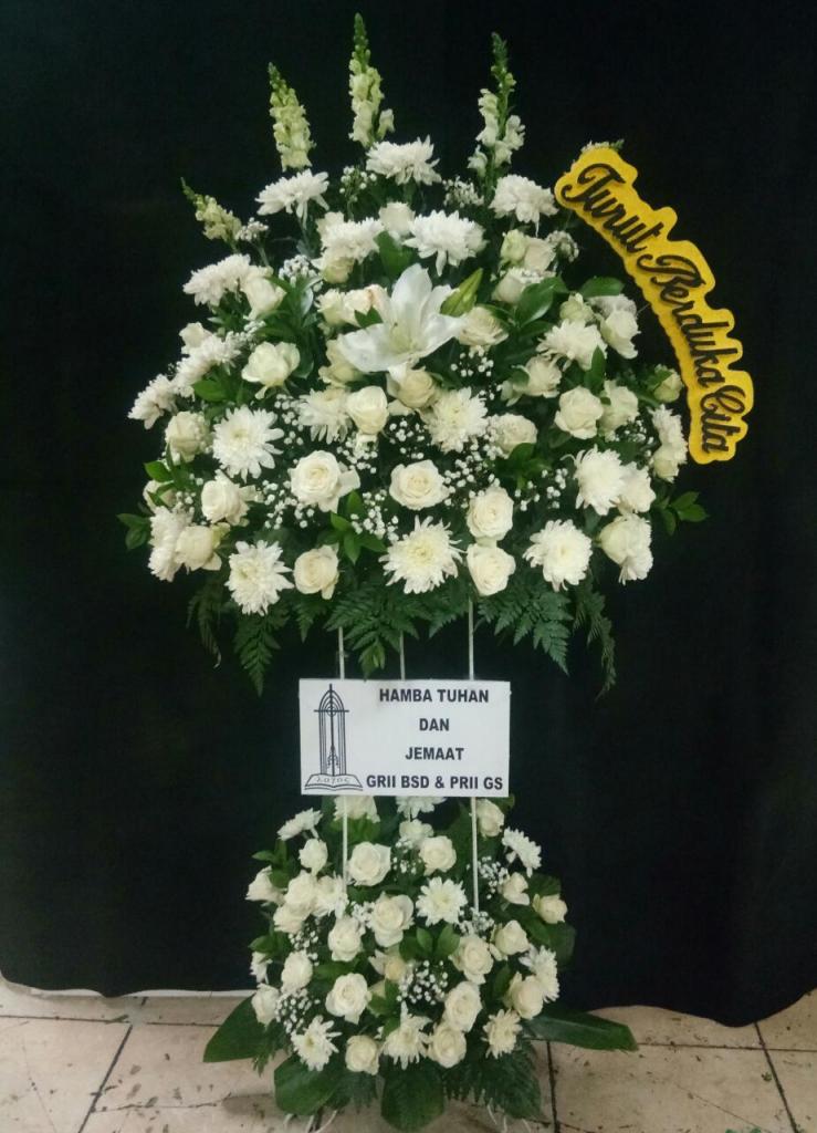 standing flower duka cita zaenflorist code zn 10