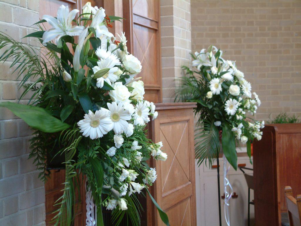 standing flower pernikahan terbaru zaenflorist code zn 03