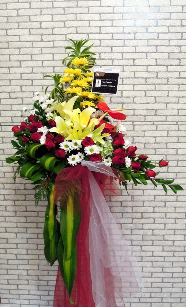 standing flowers mawar campur zaenflorist Code Zn 13