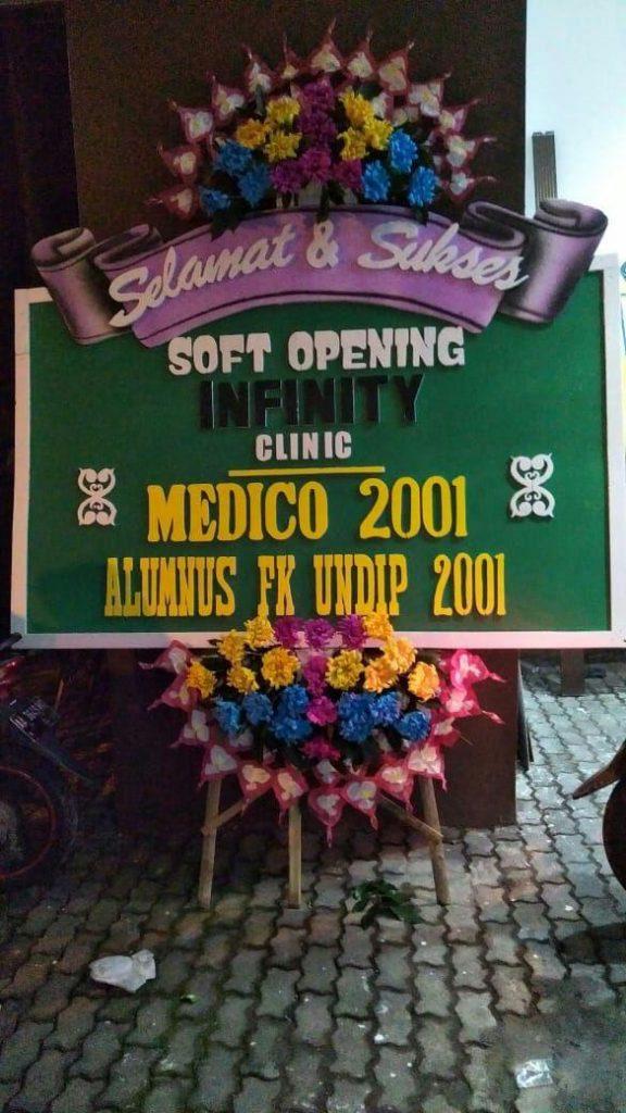 papan karangan bunga soft opening zaenflorist code zn 181