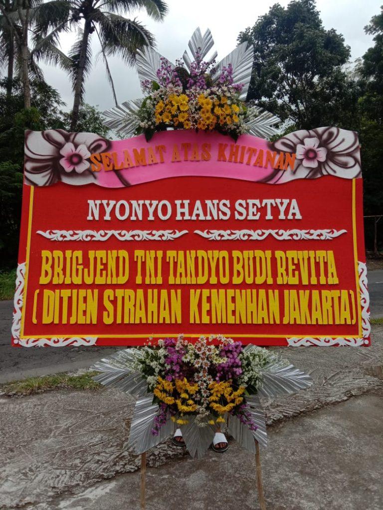 papan bunga murah magelang Zn.01